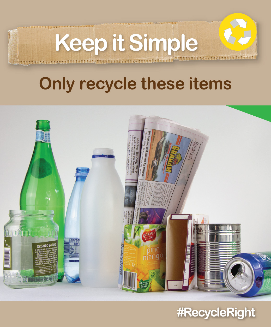 #RecycleRight image