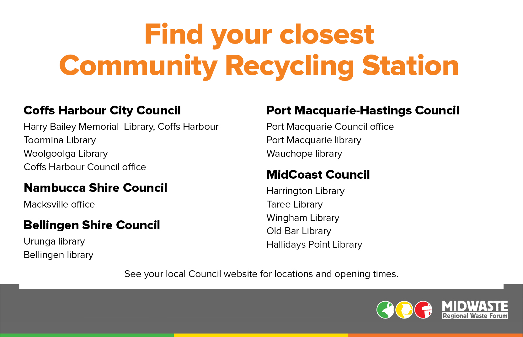 Community Recycling Stations